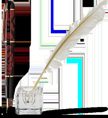 Ручка и перо